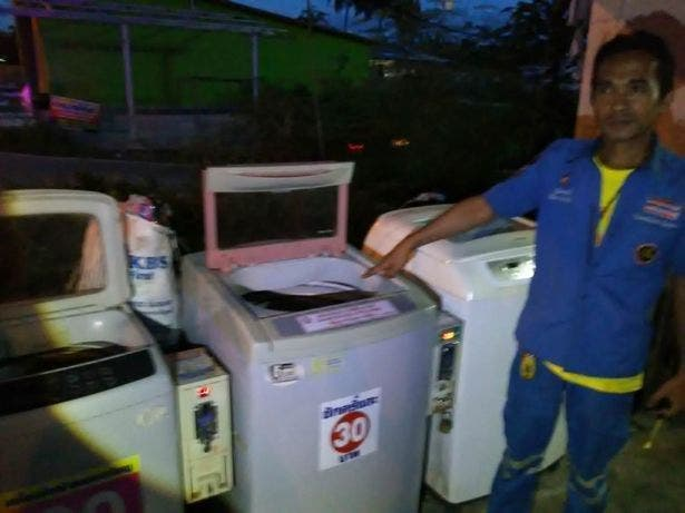 Un nouveau-né trouvé abandonné dans une machine à laver