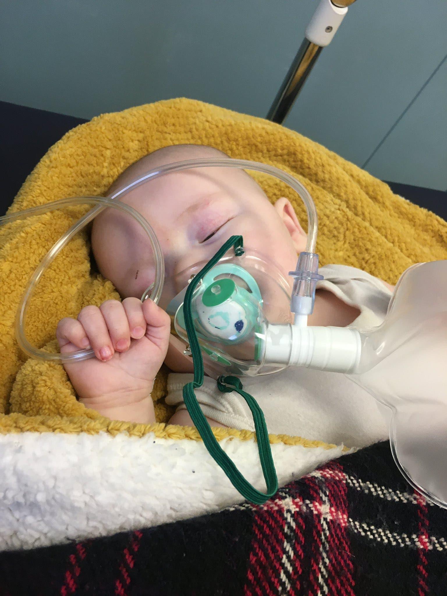 bebe sous oxygene