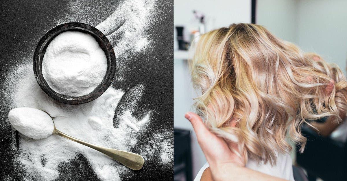 Comment faire repousser les cheveux en deux semaines avec du bicarbonate de soude