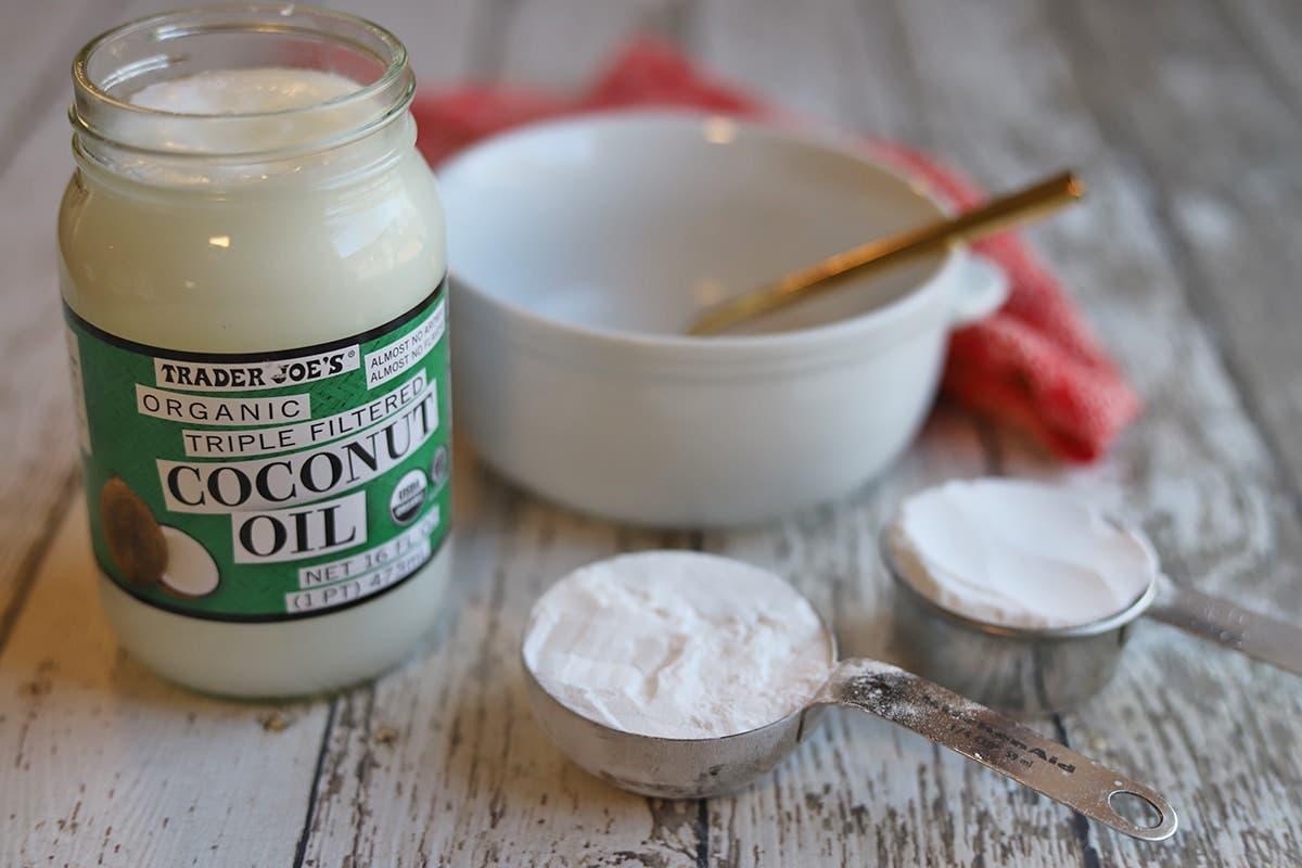 bicarbonate huile de coco
