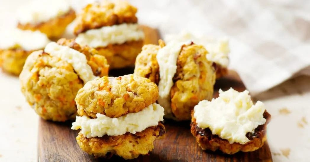 biscuits carottes fromage a la creme