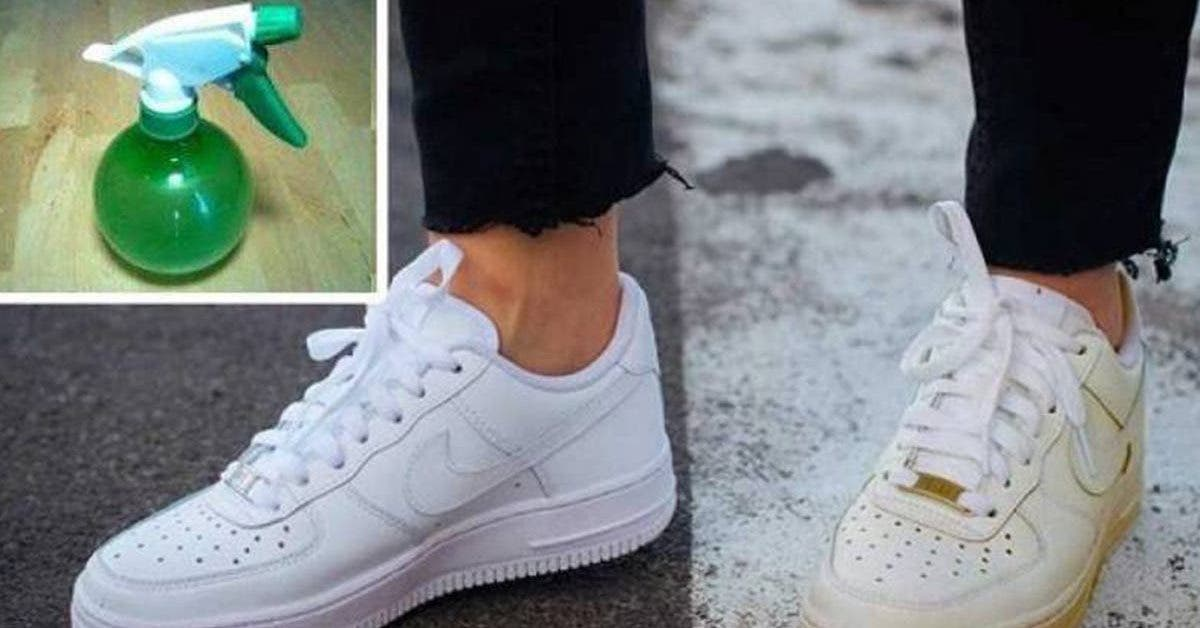 blanchir-des-chaussures-jaunies-et-leur-donner-un-aspect-neuf-lastuce-au-bicarbonate-de-soude