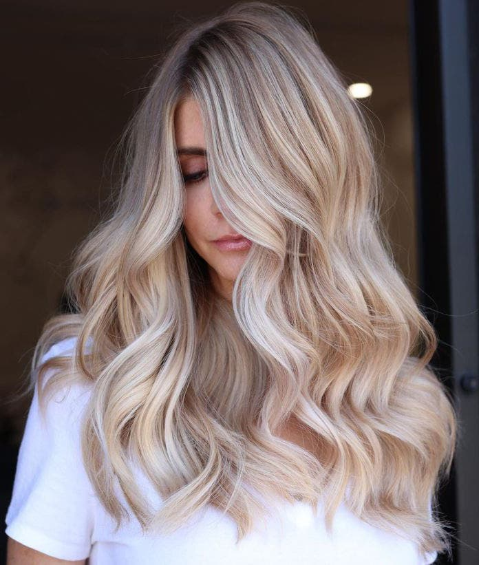 blond nacré