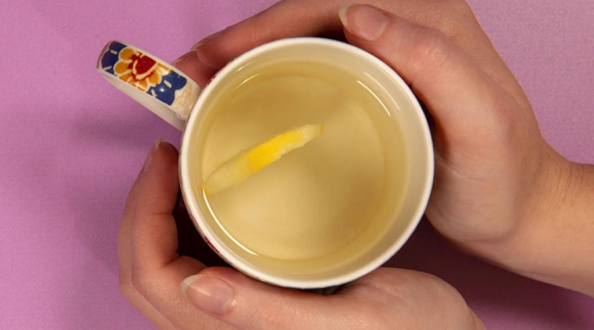 L'eau au citron est un médicament naturel