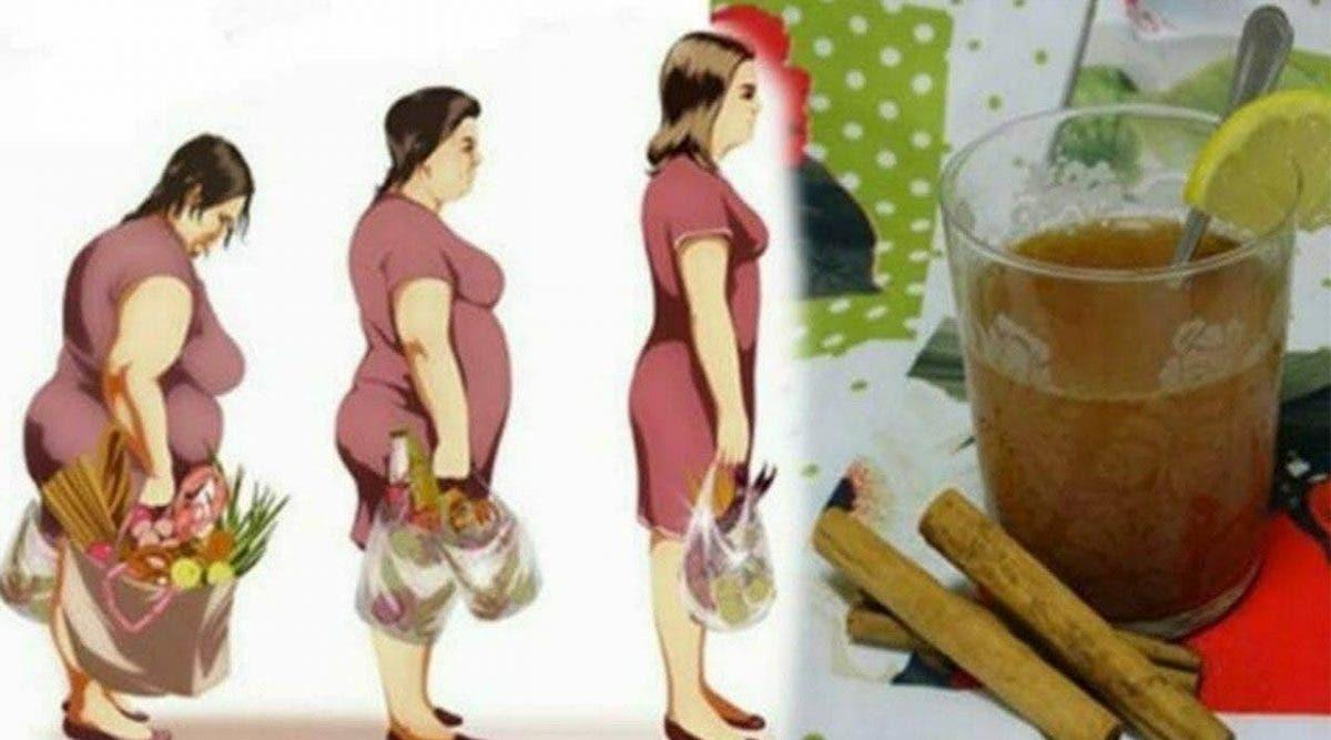 boisson au miel, citron et cannelle