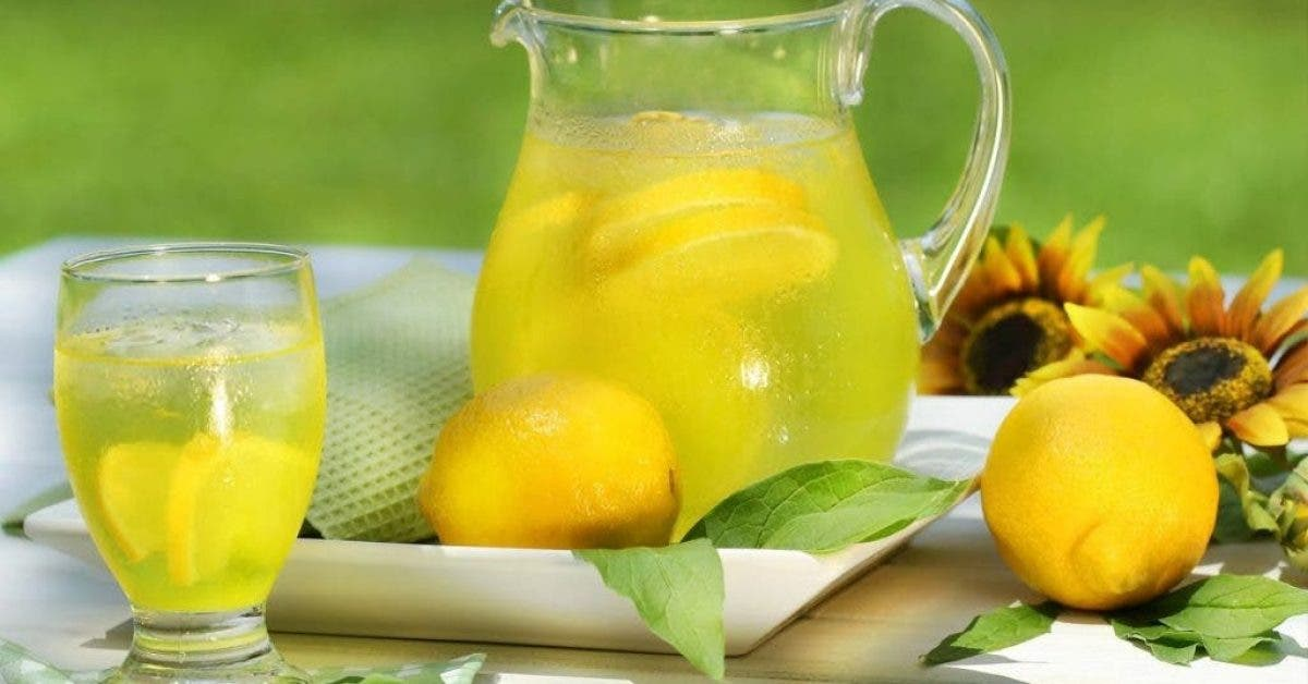 boisson citron eau