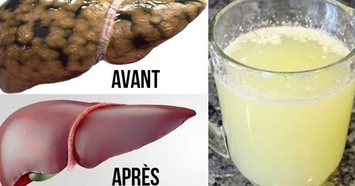 Recette : Délicieuses boissons faites maison pour nettoyer le foie et aider à la perte de poids