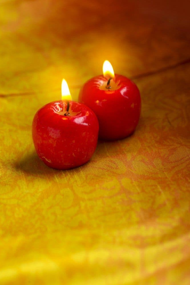 bougie a la pomme
