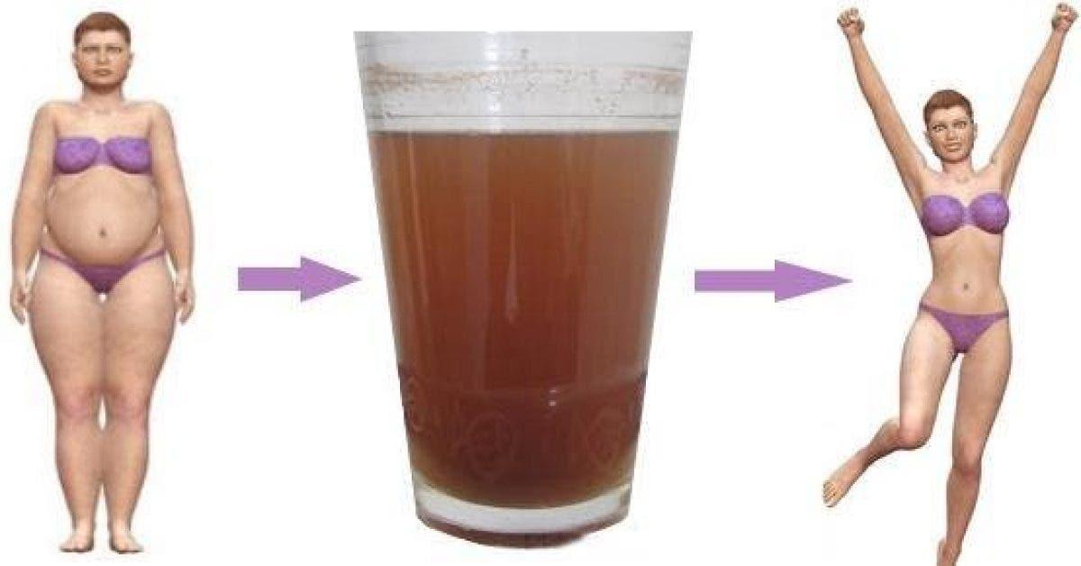 buvez le melange pendant 7 jours pour perdre jusqu a 2 5 kg 1 1