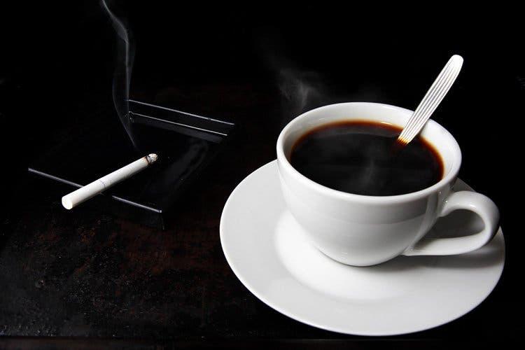 café cigarette