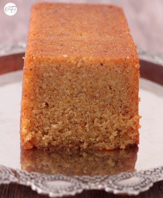 cake carottes orange
