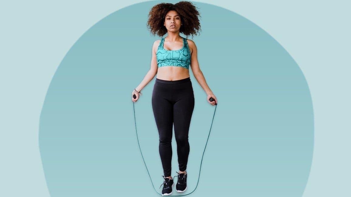 Exercice de corde à sauter