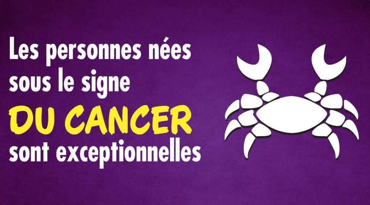 raisons qui font des Cancer des gens extraordinaires
