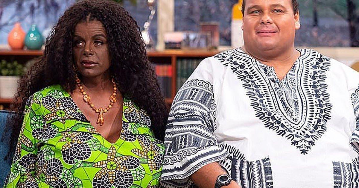 ce couple de blancs sidentifie comme noir et affirme que leurs enfants naitront avec la peau noire 1 1