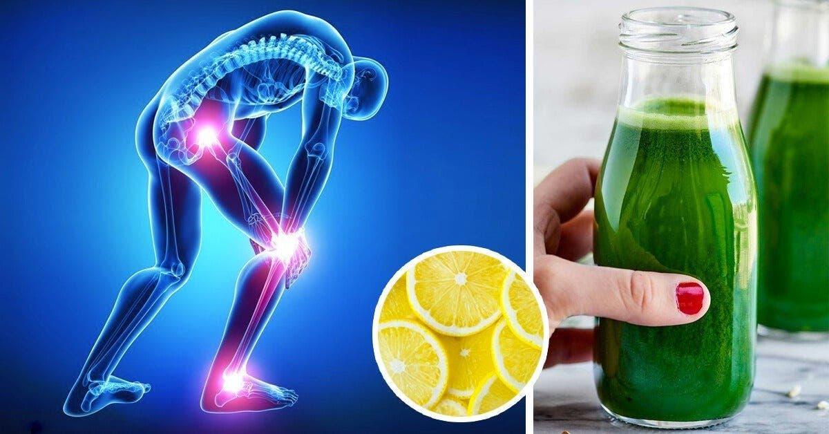 ce jus au citron concombre elimine lacide urique de votre corps et reduit les douleurs articulaires 1 1
