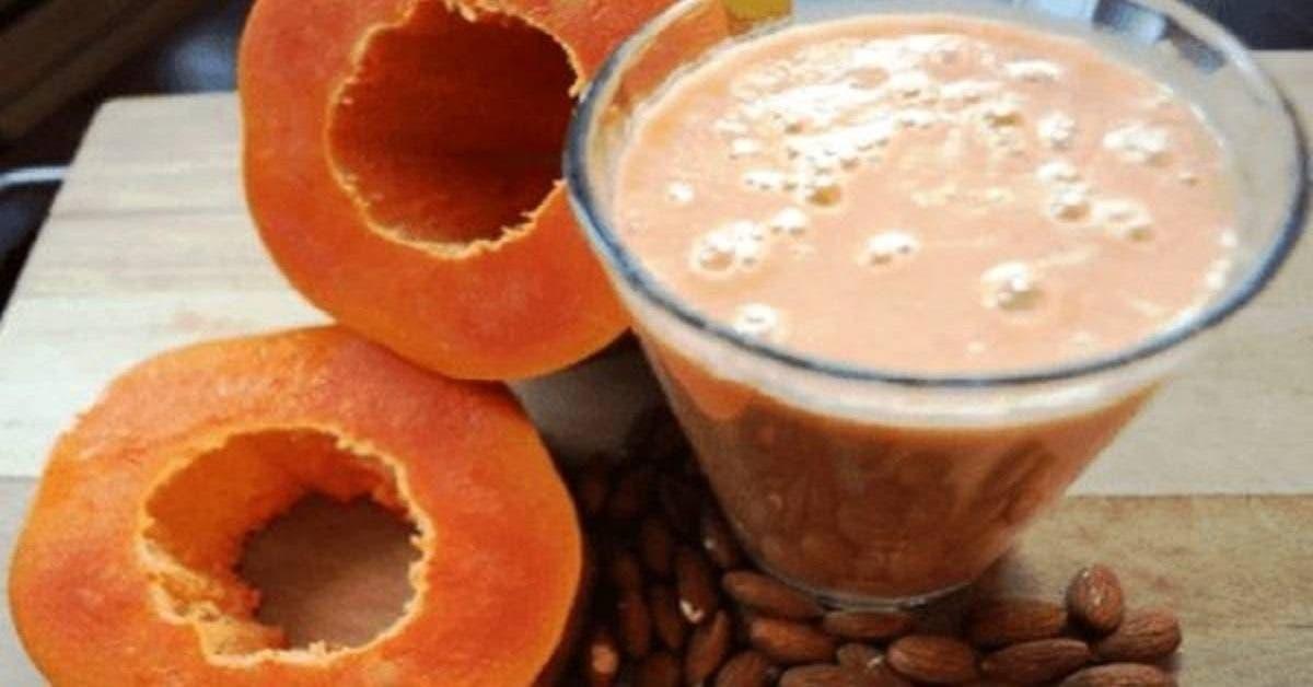 ce jus papaye cannelle aplatit le ventre nettoie le colon et elimine toute la graisse de votre corps 1 1