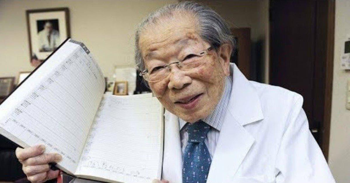 Avant de mourir, ce médecin japonais de 105 a donné 14 conseils santé à suivre