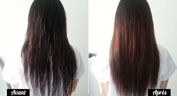 Le shampooing pour la restitution des cheveu après la décoloration