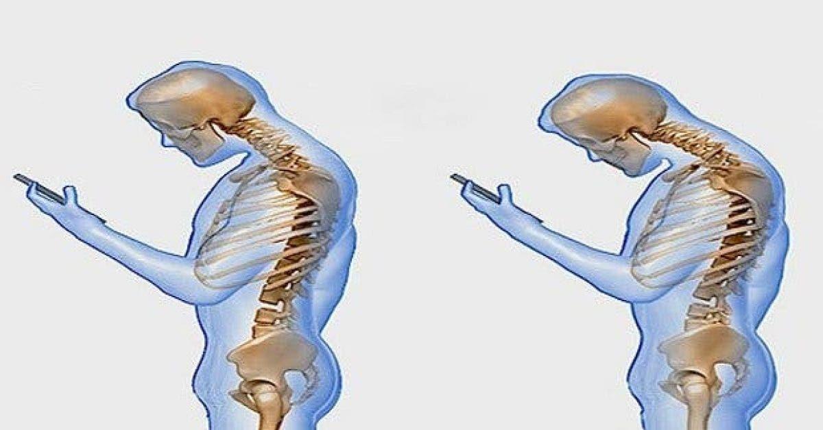 ce que fait le telephone portable sur votre colonne vertebral11