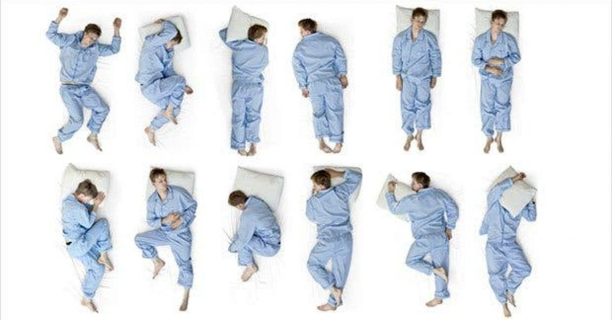 ce que la position dans laquelle vous dormez dit de vous11