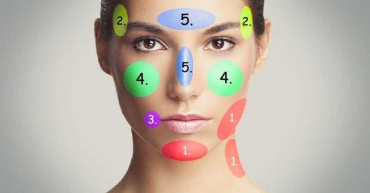 ce que les boutons sur votre visage disent de vous 1