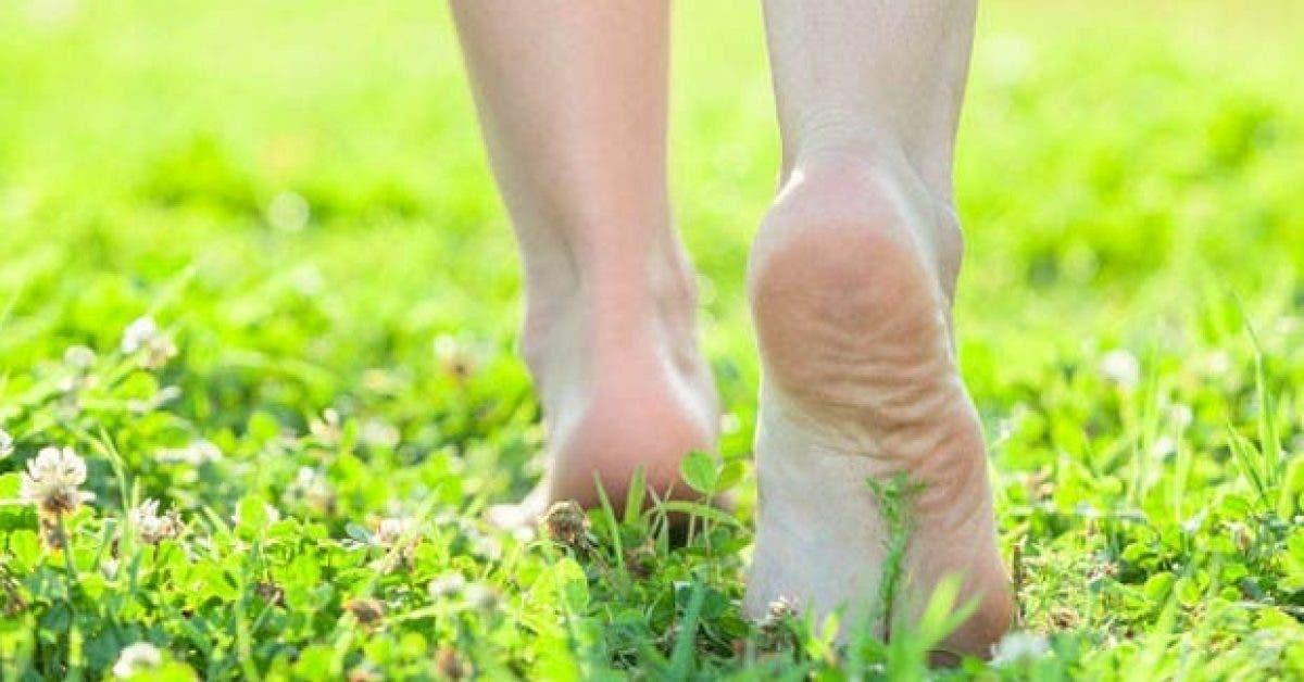 ce qui arrive a votre corps lorsque vous marchez pieds nus 5 minutes par jour 1