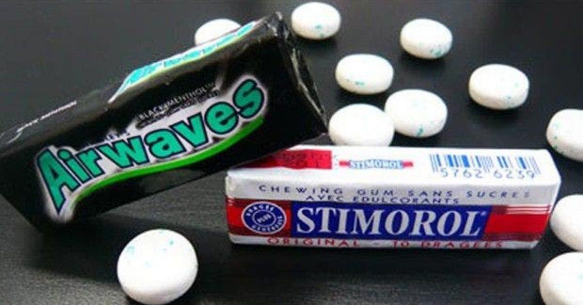 ce qui vous arrive lorsque vous mangez des chewing gums1 1