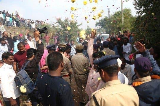 celebration arrestation violeurs