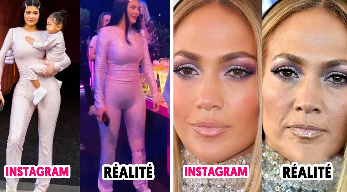 Ce compte Instagram montre comment les célébrités abusent des filtres