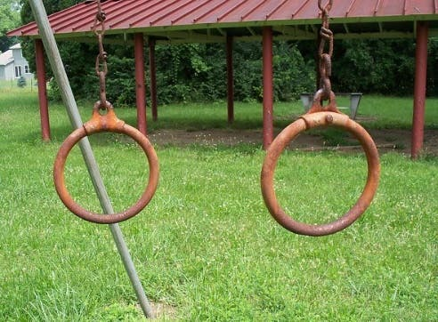 cercles metallique