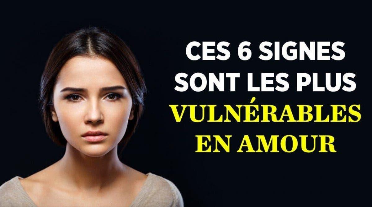 Ces 6 signes sont les plus vulnérables en amour
