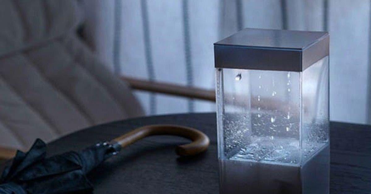 cette boite vous montre le temps quil va faire avec pluies et nuages reels 1