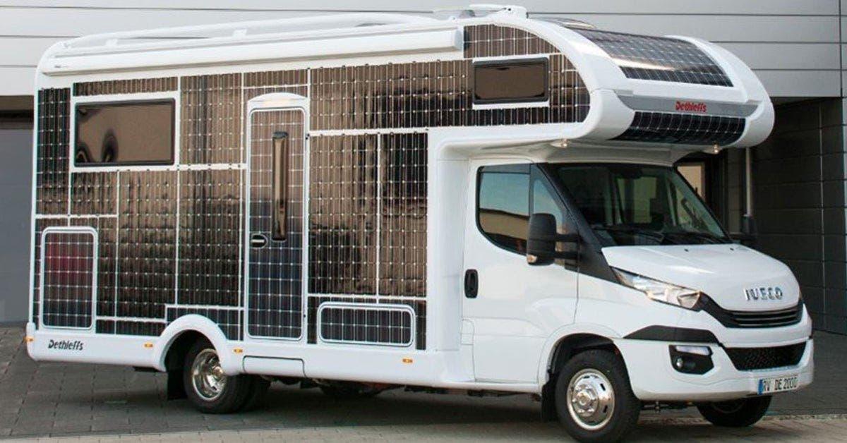 cette caravane a energie solaire fonctionne sans carburant et na pas besoin detre recharge 1 1