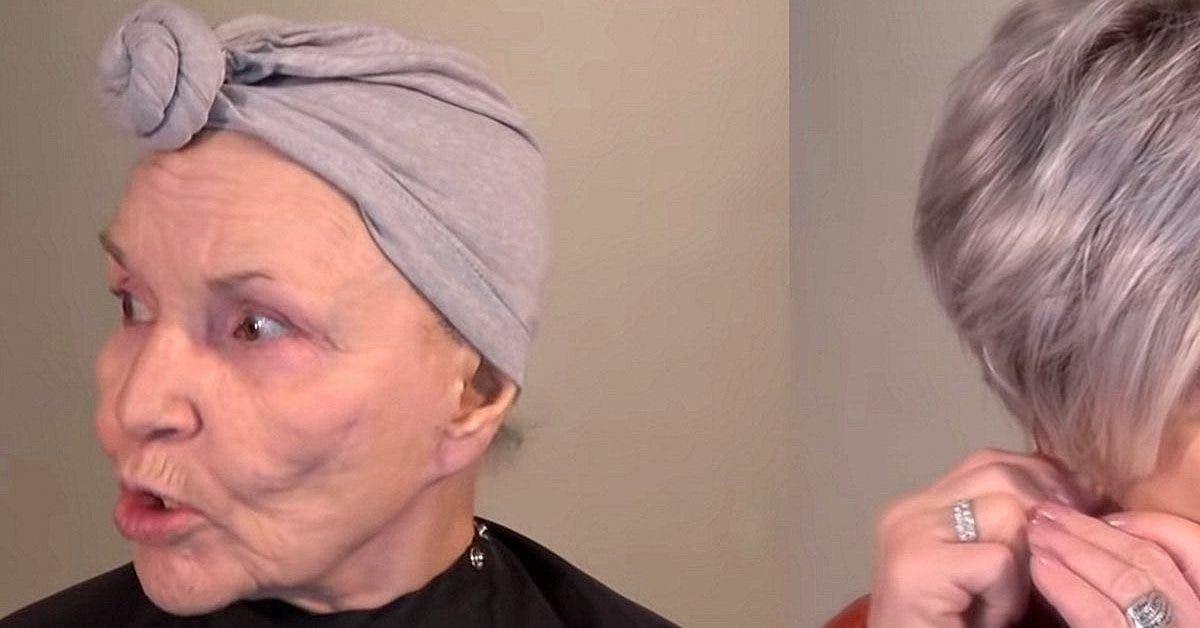 cette femme de 78 ans fait un relooking parait 20 ans plus jeune et attire tous les regards 1 1