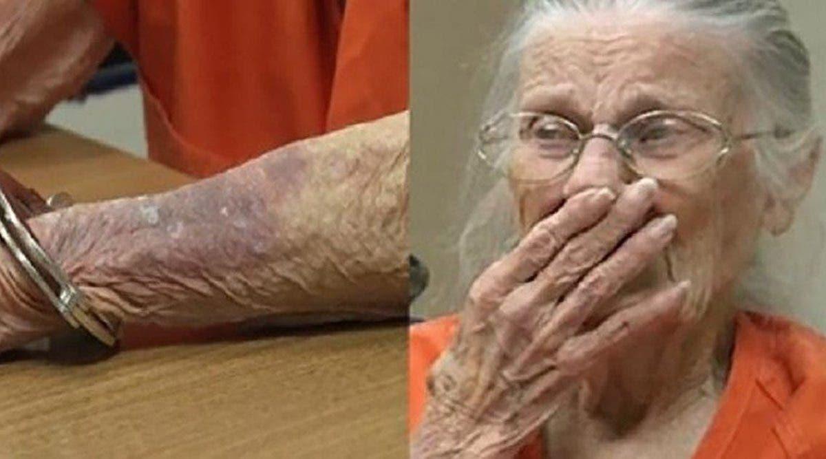Cette femme de 93 ans est mise en prison pour ne pas avoir