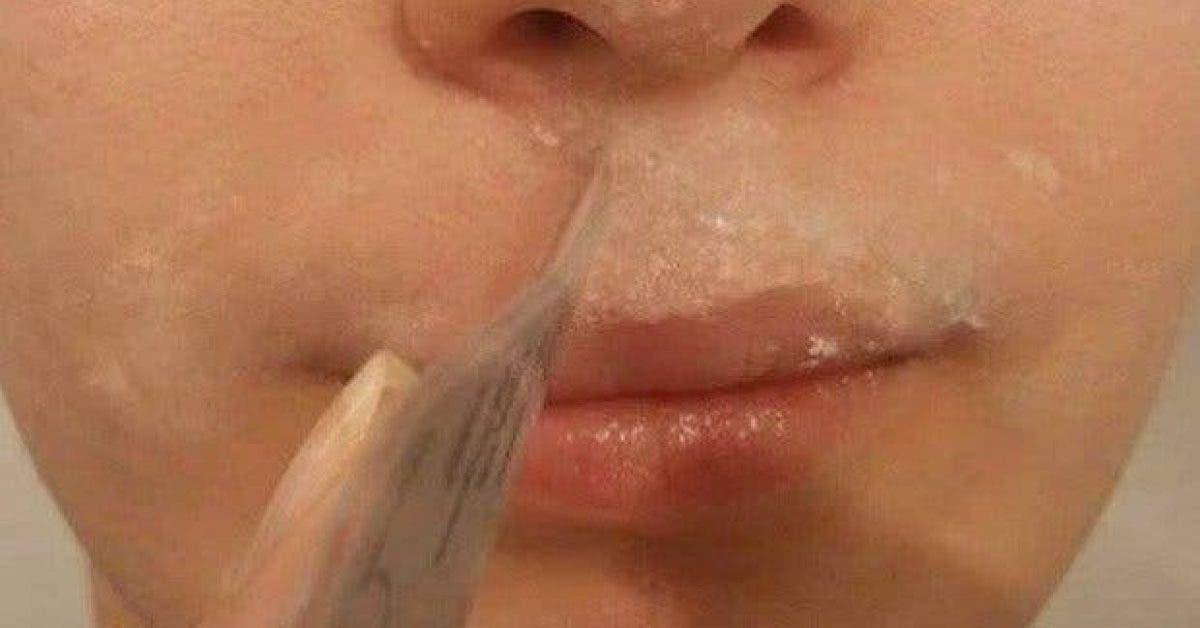 cette recette naturelle a base de 3 ingredients va faire disparaitre les poils indesirables du visage 1