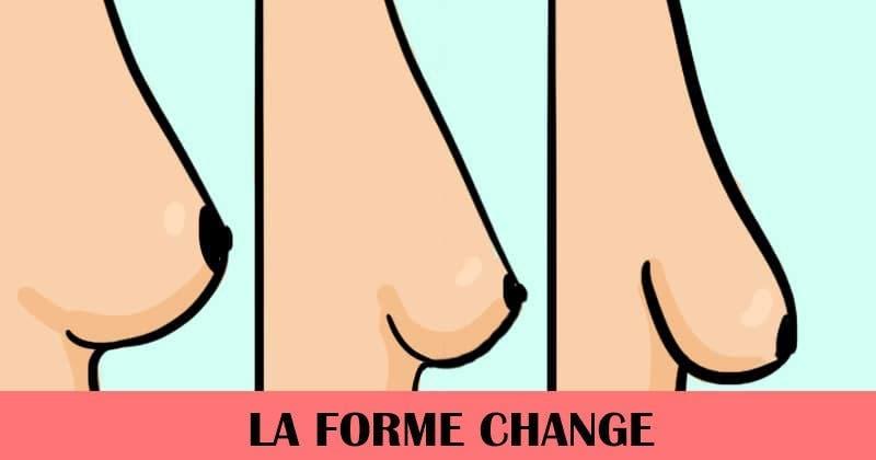 6 changements que subissent vos seins avec l'âge