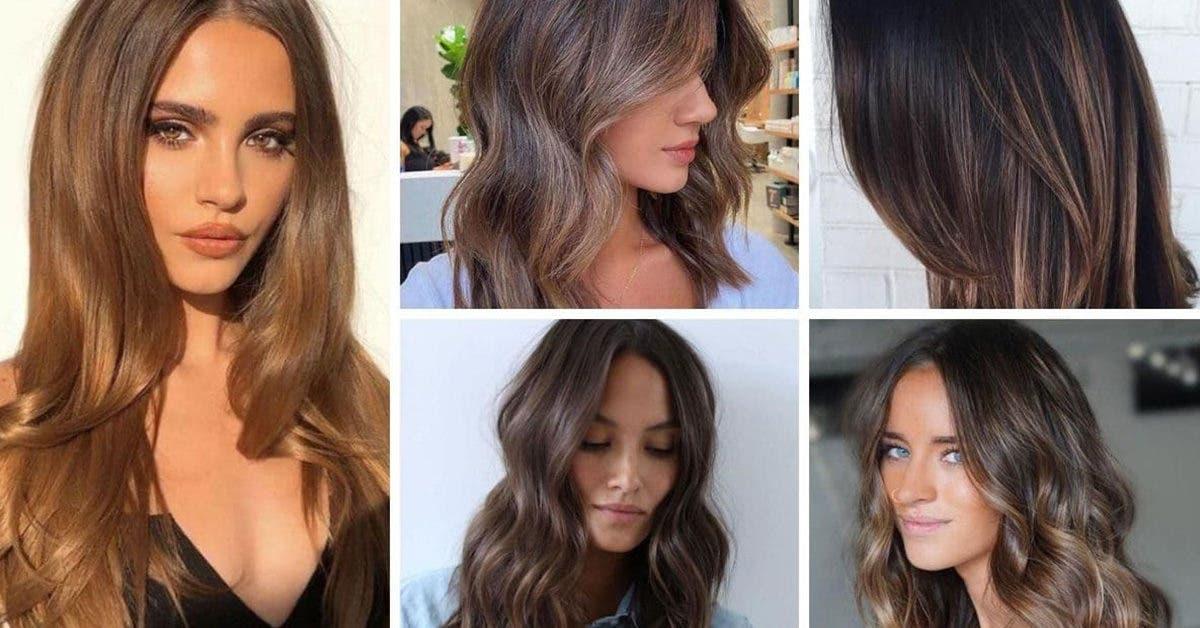 Cheveux bruns : toutes les tendance en 2022 qui vous séduiront