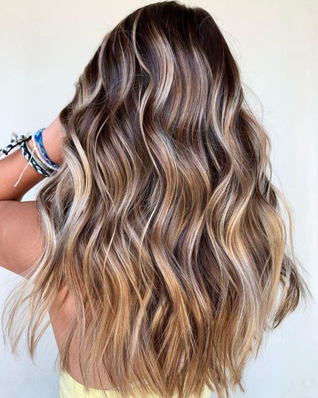 cheveux chocolatés