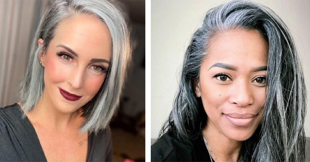 Ces 75 femmes qui ont abandonné la teinture et ont accepté leurs cheveux gris naturels n'ont jamais regretté leur choix