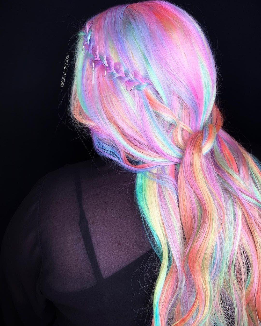 cheveux holographique1