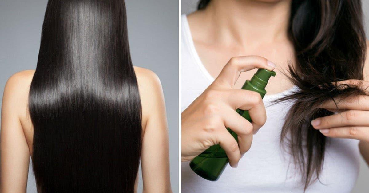 5 huiles pour avoir des cheveux extra long et un aspect soyeux
