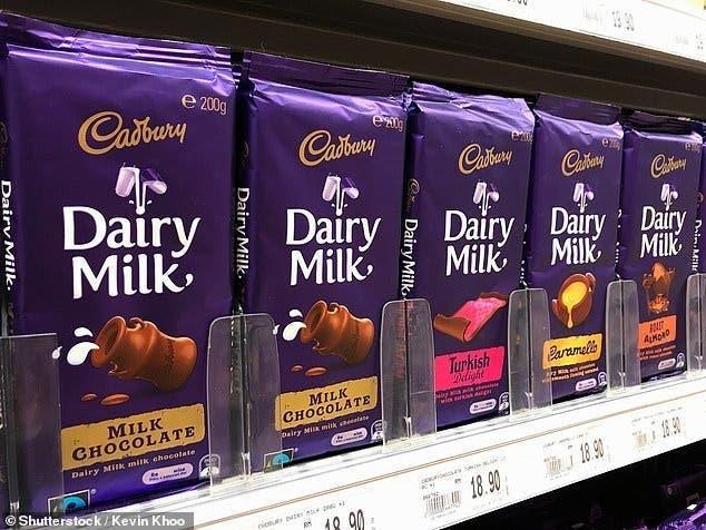 chocolat cardbury