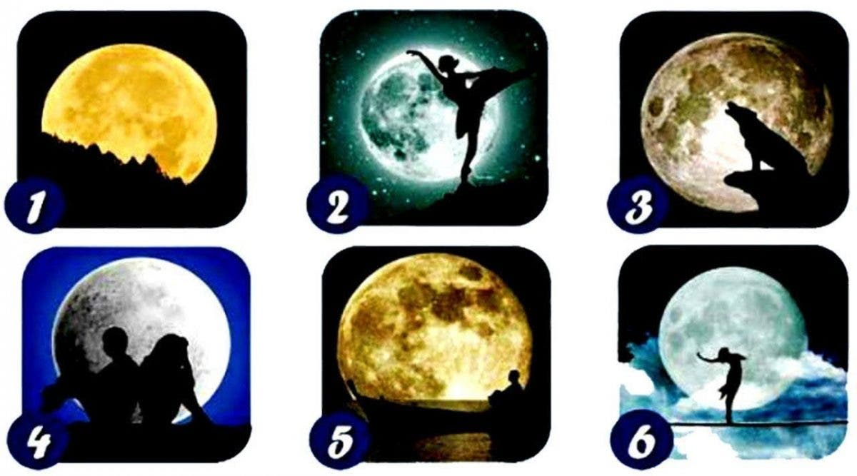 Choisissez une Lune et nous vous donnerons des informations secrètes sur votre personnalité