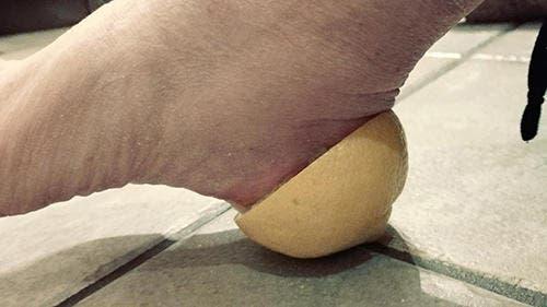 Mettez un citron dans votre chaussette et vous vous souviendrez de moi toute votre vie