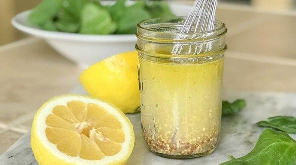 cette délicieuse vinaigrette au citron qui rend fou les gourmands