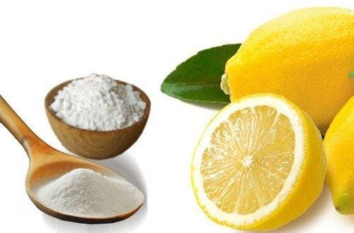 bicarbonate de soude et citron