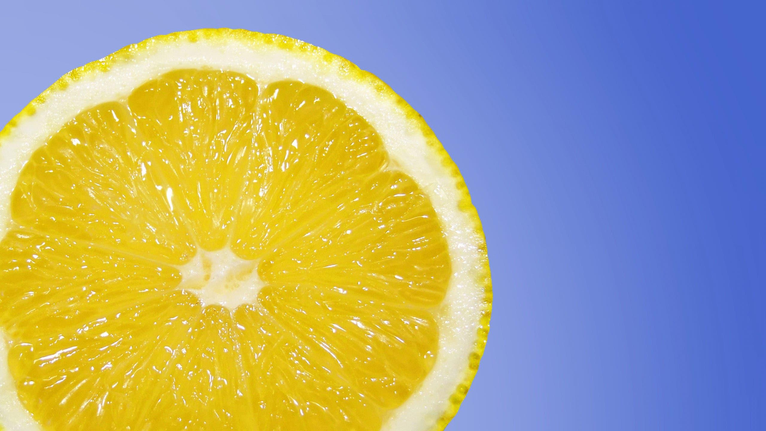 citron blanchir linge