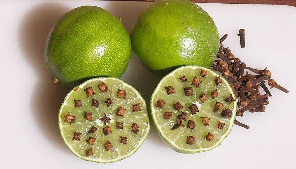 citron clous de girofle
