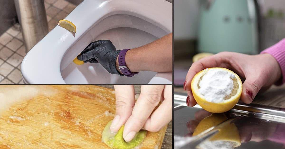 citron desinfecter surfaces